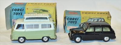 Lot 163 - Two Corgi toys