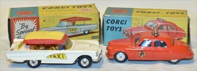 Lot 168 - Two Corgi cars