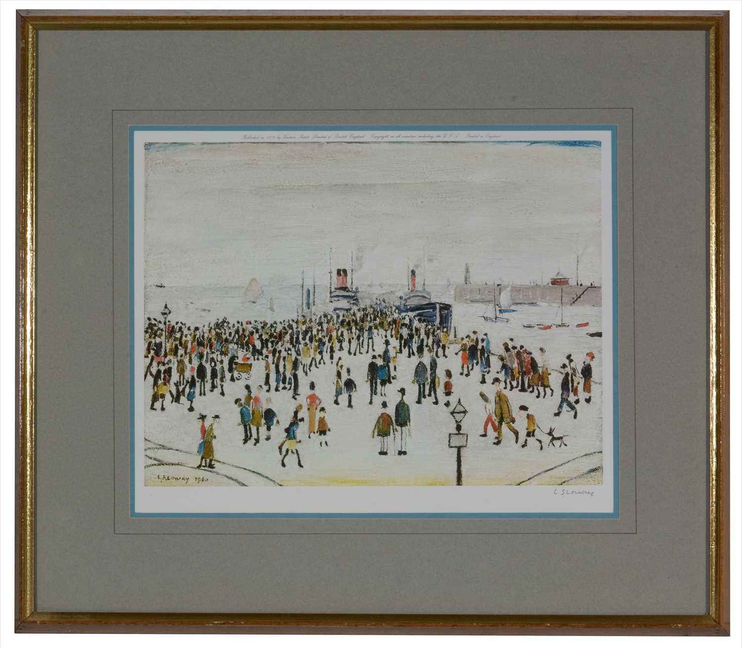 Lot 575 - After Laurence Stephen - limited edition.