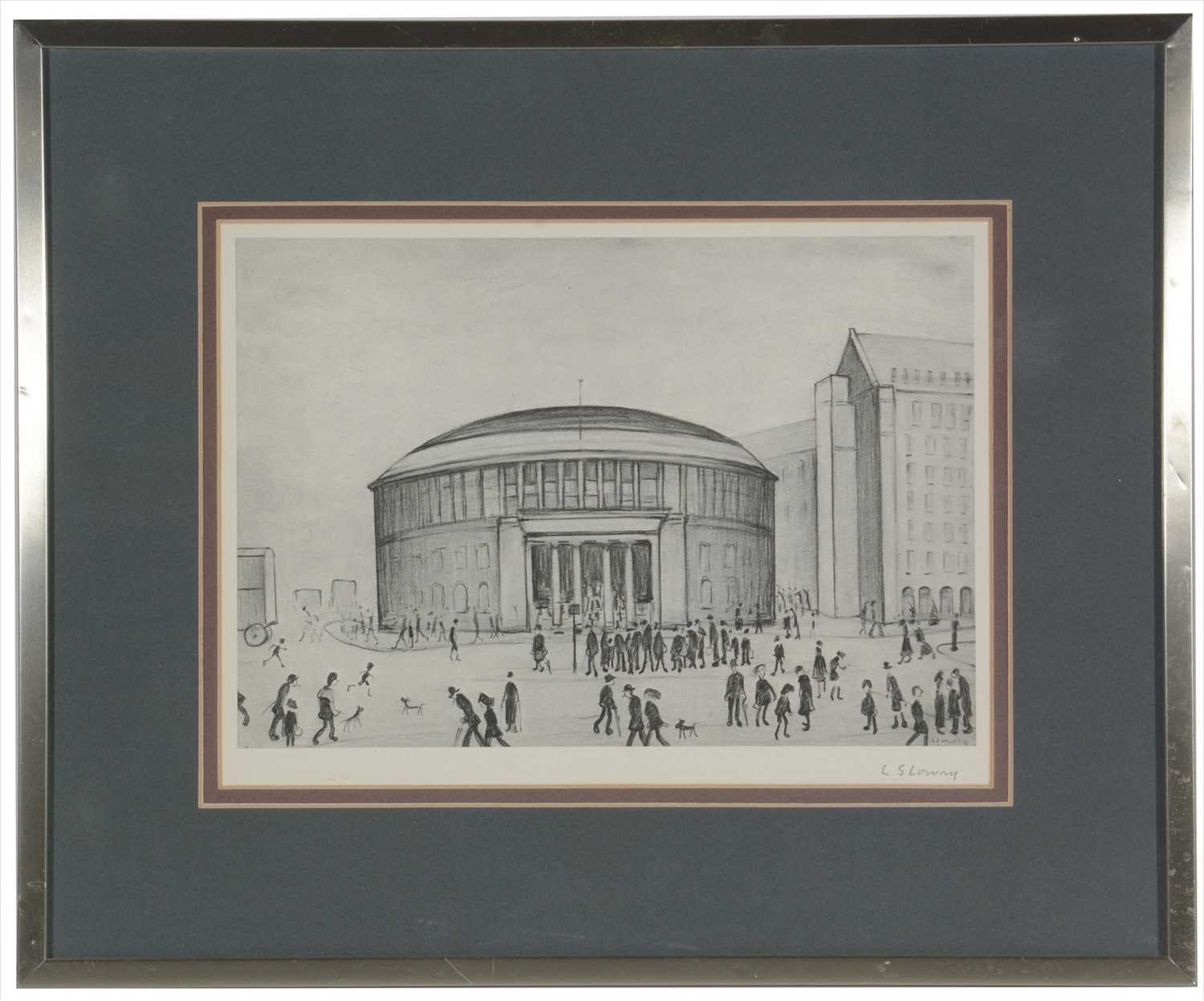 Lot 573 - After Laurence Stephen Lowry - limited edition.