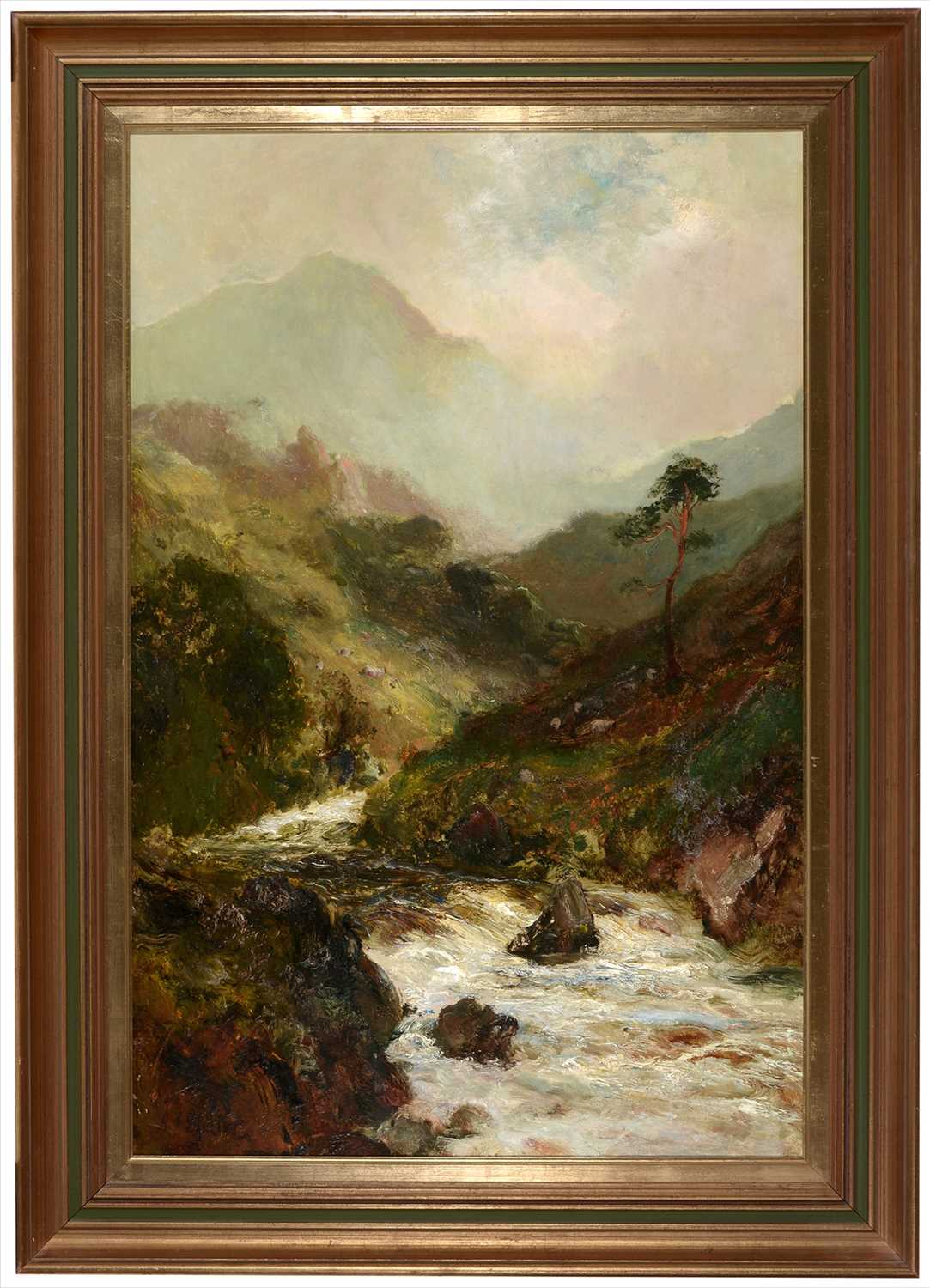 Lot 770-John Falconar Slater - oil.