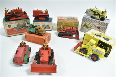 Lot 179 - Dinky industrial vehicles