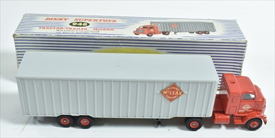Lot 180 - Dinky Tractor-Trailer