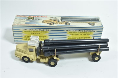 Lot 181 - French Dinky Tracteur Unic Saharien