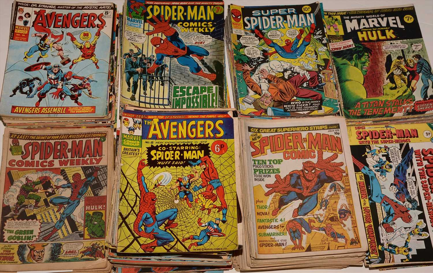 Lot 2-Large quantity of 1970's issue comics.