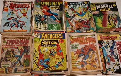 Lot 2-Large quantity of 1970's issue comics.