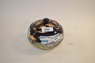 Lot 245 - Moorcroft jar and cover