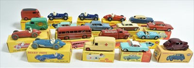 Lot 194-Dinky vehicles