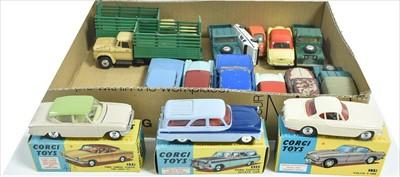 Lot 195 - Corgi vehicles