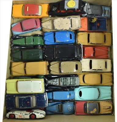 Lot 196 - Dinky play worn vehicles