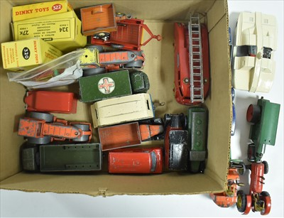 Lot 197 - Dinky play worn vehicles