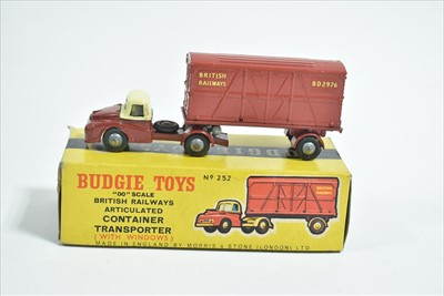 Lot 200 - Budgie Articulated Container Transporter
