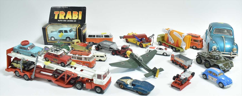 Lot 203 - Corgi and Dinky vehicles