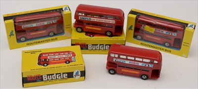 Lot 204 - Budgie Routemaster buses