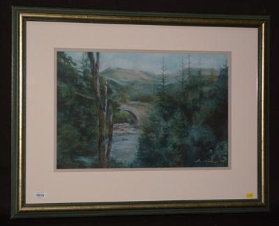 Lot 1012-Fiona Haldane - pastel.