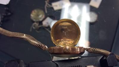 Lot 9-A Rolex cocktail watch
