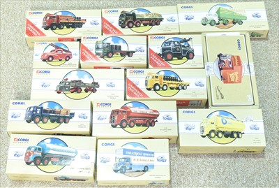 Lot 219 - Corgi commercial vehicles