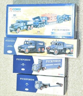Lot 221 - Corgi Pickfords vehicles