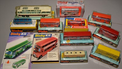 Lot 229 - Dinky buses