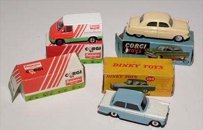 Lot 239 - Corgi and Dinky cars