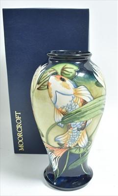 Lot 502-Moorcroft vase