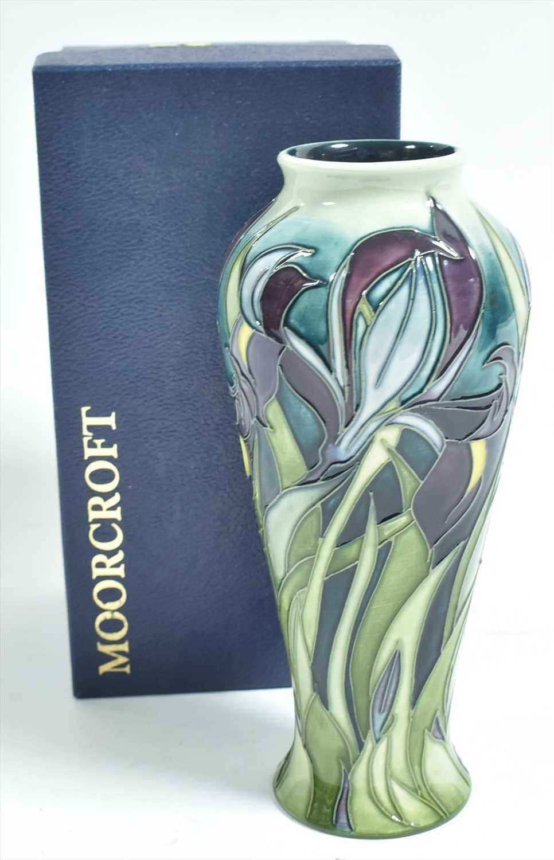 Lot 506-Moorcroft vase