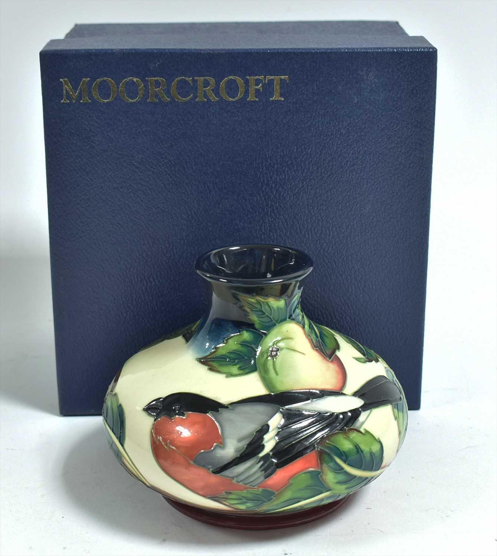 Lot 508-Moorcroft vase