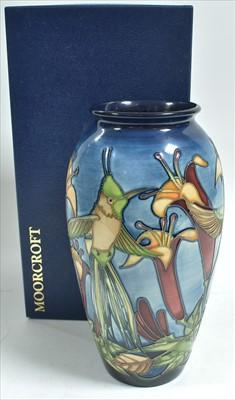 Lot 510-Moorcroft vase