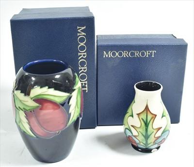 Lot 513-Moorcroft vase