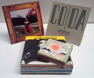 Lot 297 - Mixed LPs and singles