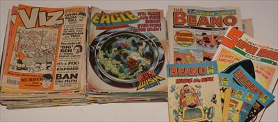 Lot 4-Viz and other comics.