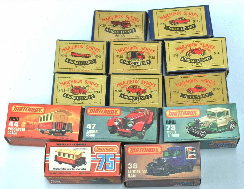 Lot 257-Matchbox diecast vehicles