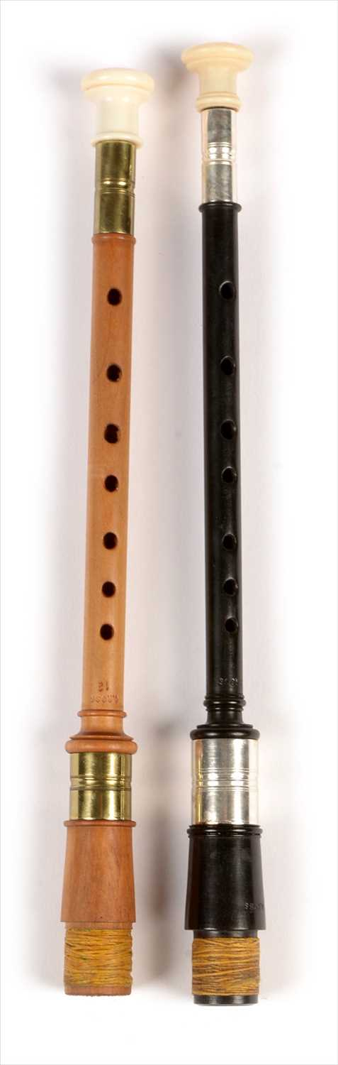 Lot 179 - Two simple chanters.