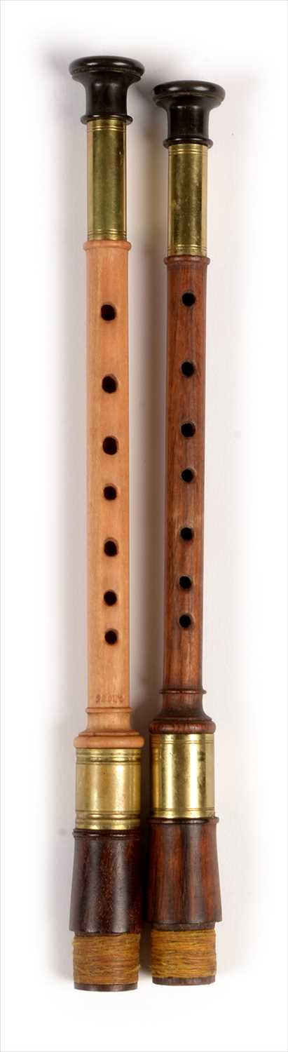 Lot 180 - Two simple chanters.