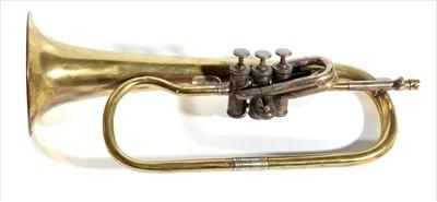 Lot 158 - M Wolf Flugel horn