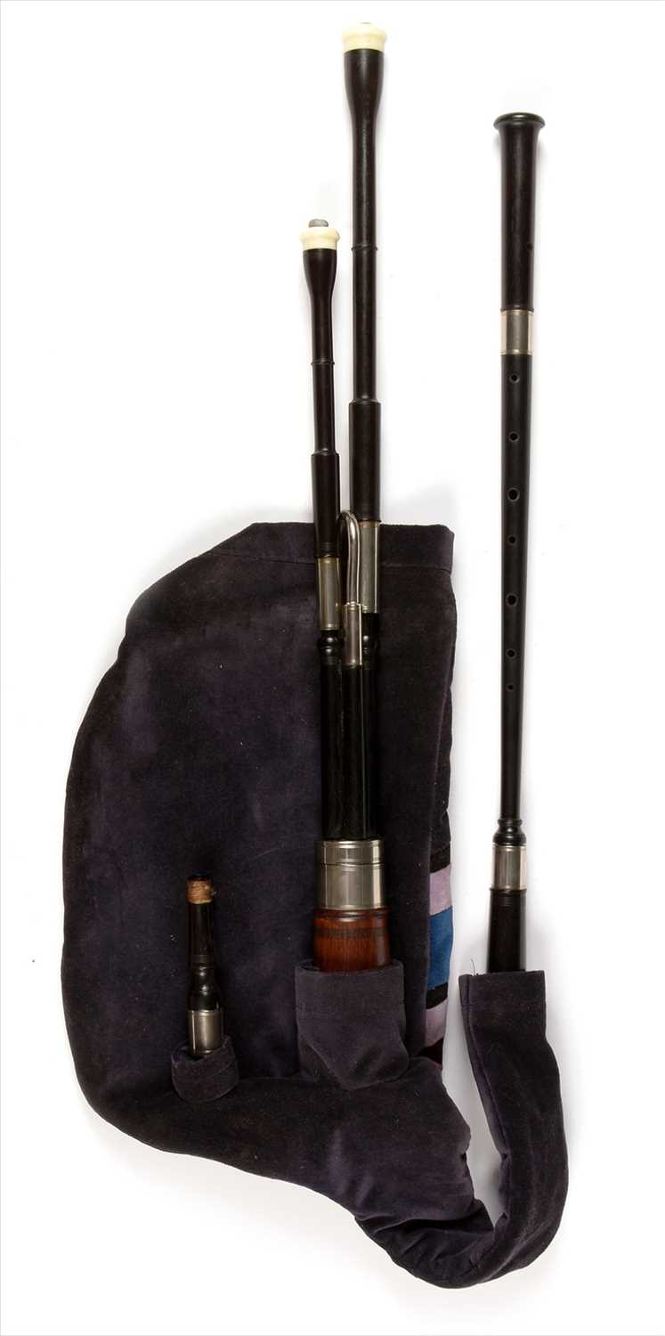 Lot 188 - Set of Bretton style pipes.
