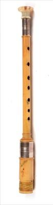 Lot 197 - Simple new wood chanter.