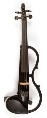Lot 115-A Yamaha silent violin.