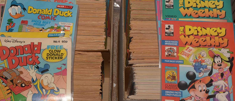 Lot 6-Disney Comics