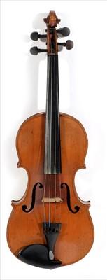 Lot 116-Violin.