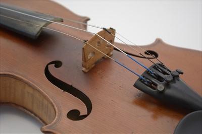 Lot 116 - Violin.