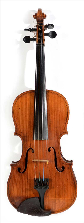 Lot 117 - Violin.