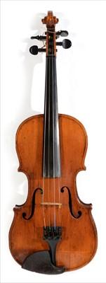 Lot 117-Violin.