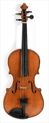 Lot 118-Violin.
