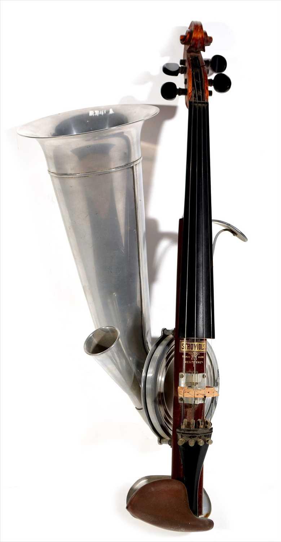 Lot 120-Fiddle