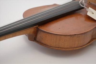 Lot 121 - Violin.