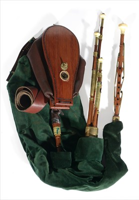 Lot 227 - Northumbrian small pipes by Bill Hedworth