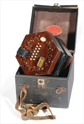 Lot 7-Lachenal English system concertina