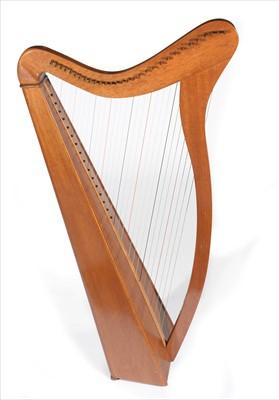Lot 32 - Celtic Harp