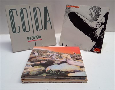 Lot 336-Led Zeppelin LPs